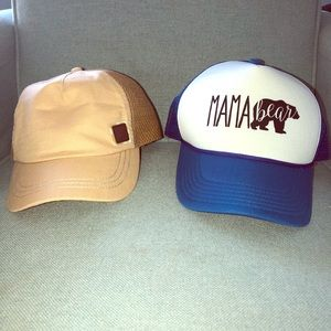 New without tag hats